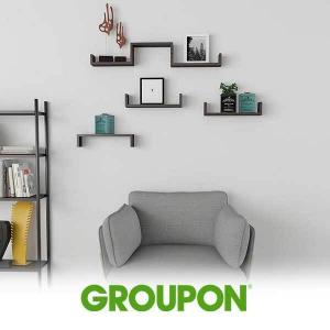 52% Off SuperJare Wall Mounted Floating Display Shelves