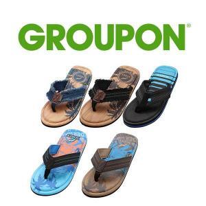33% Off Norty Men's Memory Foam Footbed Sandals