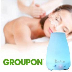 53% Off 7-Color LED Ultrasonic Diffuser and Humidifier