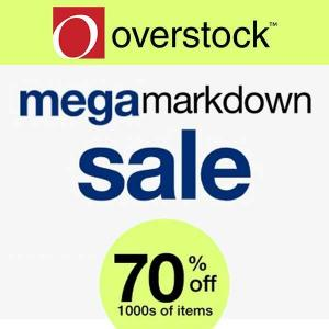 Mega Markdown Sale: Up to 70% Off 1000s of Items