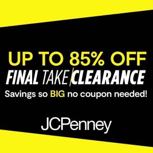 Up to 85% Off Clearance Sale