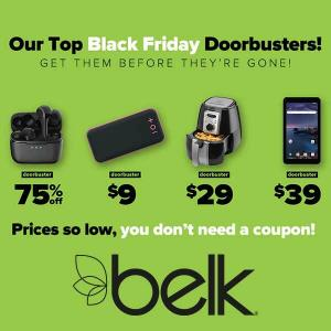 Save on Belk's Black Friday in July Doorbusters