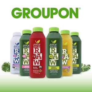 Up to 60% Off Juice from the Raw