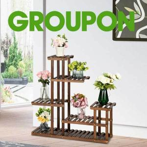 Up to 37% Off Pine Wood Plant Stand