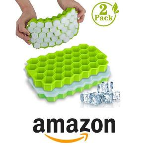 15% Off Wetong Silicone Ice Cube Molds With Lids