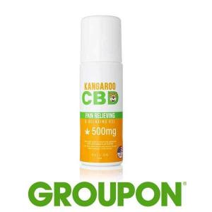 68% Off CBD-Infused Pain Relief Roll-on with Menthol