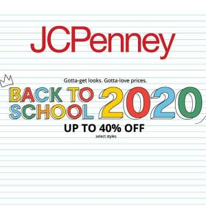 Back to School 2020: Up to 40% Off