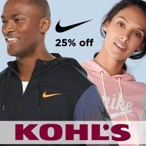 25% Off Select Nike Styles