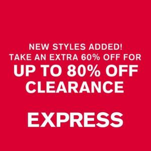 Extra 60% Off for Up to 80% Off Clearance