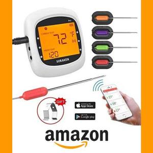 15% Off Soraken Smart Wireless Meat Thermometer for Grilling