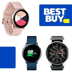 Up to $40 Off Samsung Galaxy Watch or Galaxy Watch Active