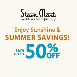 Up to 50% Off Select Items in Summer Sale