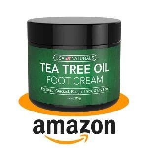 15% Off Tea Tree Oil Foot Cream