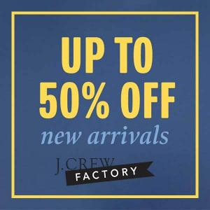 Up to 50% Off New Arrivals for the Family