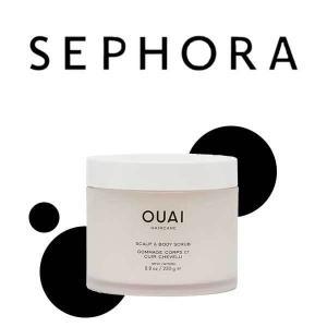 Free OUAI Trial Size Scalp & Body Scrub with Purchase