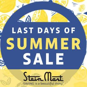 Up to 50% Off Select Items in Last Days of Summer Sale