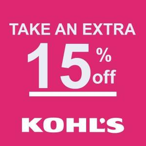Extra 15% Off Online & In Store Purchase with Code