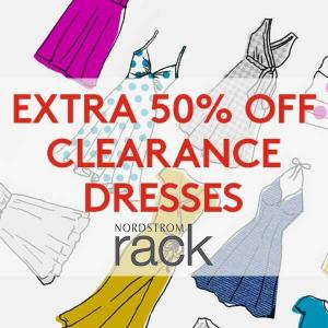 Extra 50% Off Clearance Dresses