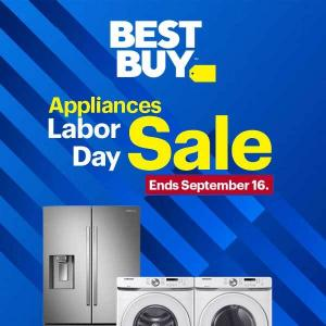 Labor Day Appliance Sale: Up to 40% Off