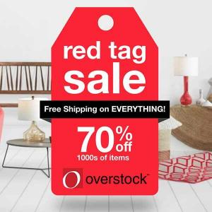 Red Tag Sale: Up to 70% Off 1000s of Items