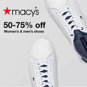 From 50%-75% Off Men's & Women's Shoes