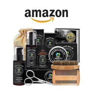 47% Off Beard Grooming Kit w/ Beard Conditioner
