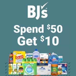 Spend $50, Get $10 Reward on Qualifying Items