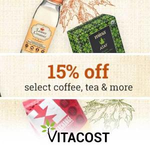 15% Off Select Coffee and Creamers