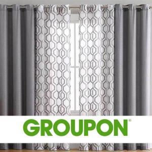 58% Off 2 Pair Auckland Collection Grommet Window Curtain Panels