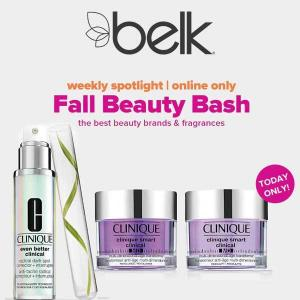 Fall Beauty Bash: 20% Off Clinique