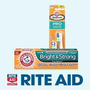 Earn $5 BonusCash When You spend $15 on Arm & Hammer Products