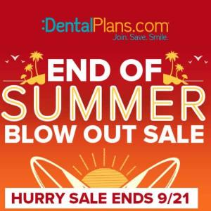 End of Summer Blowout Sale: 15% Off