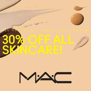 30% Off Skin Care