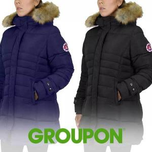 Up to 72% Off Women's Heavyweight Parka with Detachable Hood