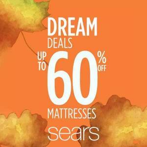 Up to 60% Off Mattress Dream Deals