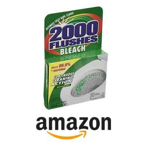 45% Off 2000 Flushes Bleach Automatic Toilet Bowl Cleaner