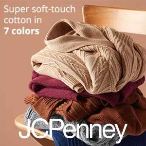 40% Off St. John's Bay Sweaters