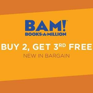 Buy 2, Get 3rd Free Newly Added Bargain