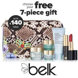 Free 7 piece Gift w/ $39.50 Estee Launder Purchase
