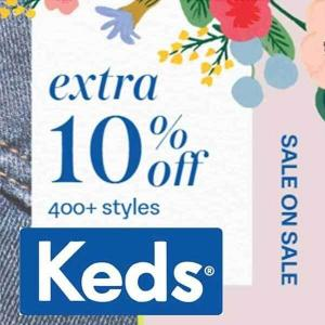 Extra 10% Off 400+ Sale Styles