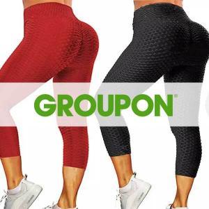 Up to 77% Off Women's High Waist Yoga Pants