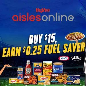 Buy $15, Earn $.025 Fuel Saver