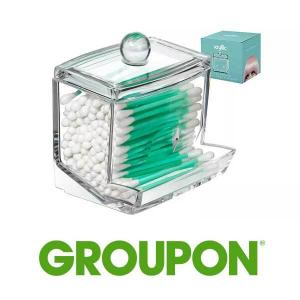 68% Off Acrylic Q-Tip Storage Dispenser