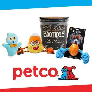 Sale On Pets' Halloween Toys and Treats