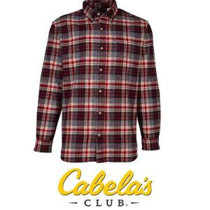40% Off Flannel Long-Sleeve Shirt For Men