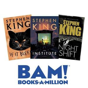 Buy 2, Get 3rd Free Stephen King