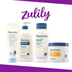 Aveeno and Lubriderm Starting at $3.39
