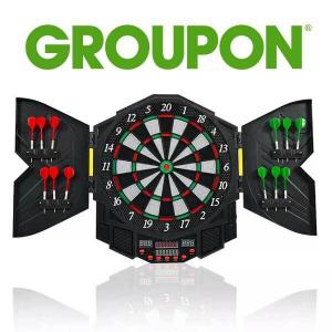 35% Off Costway Professional Electronic Dartboard Set