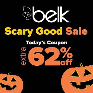Extra 62% Off Scary Good Sale