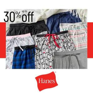 Up to 30% Off Sleepwear